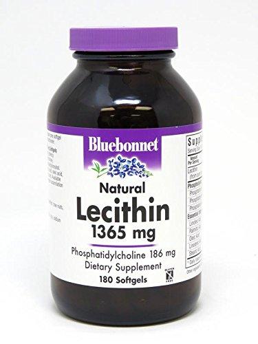 Bluebonnet Nutrition Lecithin 1365 mg, 180 softgels