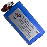 7.4V 2200mAh-16.28wh Rechargeable Li-ion Battery - VIDAR High Capacity Super Durability Lithium Battery with JST PH2.54/2P Plug-in for Electronics,Toys,Lighting,Equipment