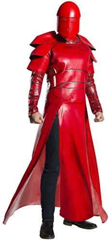 Rubie's Star Wars Episode VIII: The Last Jedi Men's Deluxe Praetorian Guard Costume Red Standard