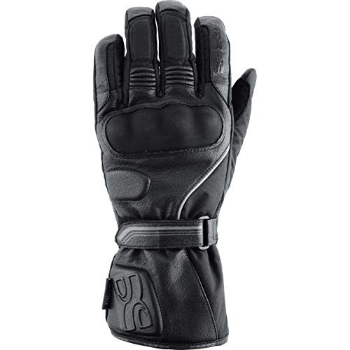 IXS Black M Glove Viper, Adultos Unisex