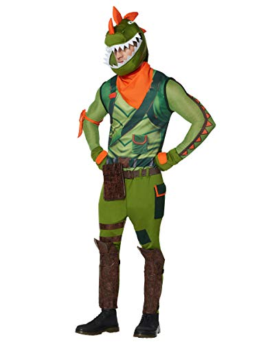Spirit Halloween Adult Rex Fortnite Costume | Officially Licensed - S