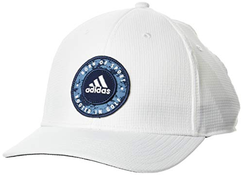 adidas Gorra de béisbol ajustable para hombre Golf 2021 Circle Snapback Sport Six Panel