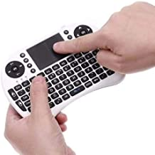 Mini Teclado Mouse Touchpad Wireless Wifi I8 Tv Box Usb Pc