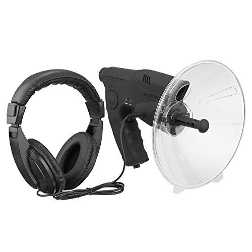 TENGGO Parabolmikrofon Monocular X8 Bionisches Ohr Langstrecken Vögel Hörteleskop 200M