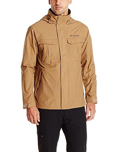 Columbia Men's Dr. Downpour Rain Jacket, Delta, X-Large