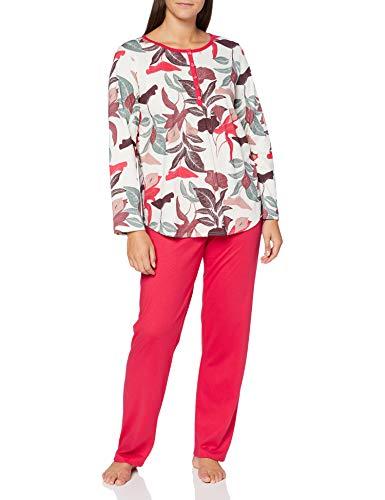 CALIDA Damen Late Summer Dreams Pyjamaset, Barberry red, M