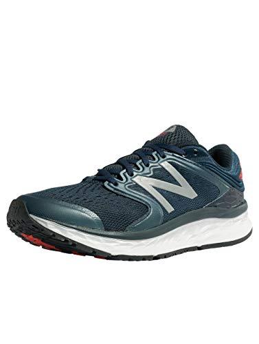 New Balance Men's 1080v8 Fresh Foam Running Shoe, Navy, 7.5 UK