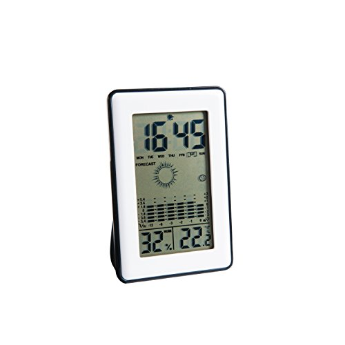 Clip Sonic Technology SL245 Station météo hygromètre Noir/Blanc