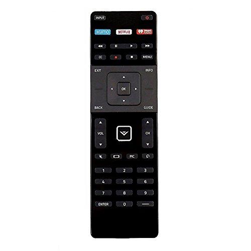 XRT122 Remote for Vizio TV E390i-B1E E280i-B1 E231-B1 E65-C3 E700i-B3 D24-D1 D60-D3 D65-D2 D43-D1 D50-D1 D32X-D1 D40-D1 65UD2 E32C1 E65C2 E60C3 E65C3 D39HD0 E48C2 D50UD1 D32D1 E55C2 E60C3 E65C3