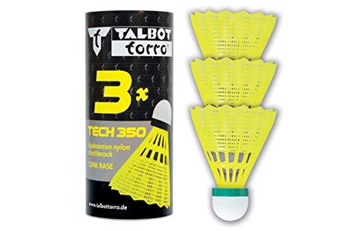 Volants de badminton TECH 350, jupe: jaune,...
