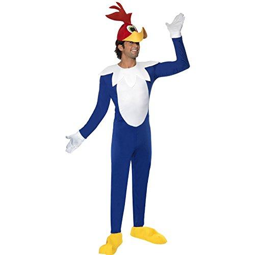 Disfraz de Pájaro Loco para adulto, talla M