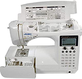 Juki HZL-F600 Computerized Sewing and Quilting Machine (Renewed)