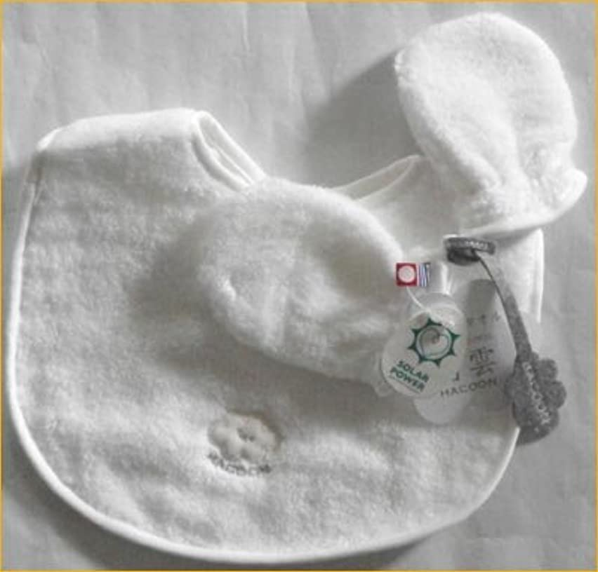 放置ホバー階段白雲 今治タオル スタイとミトンセット 涎かけ タオル製ベビー服のギフトセット 出産祝い