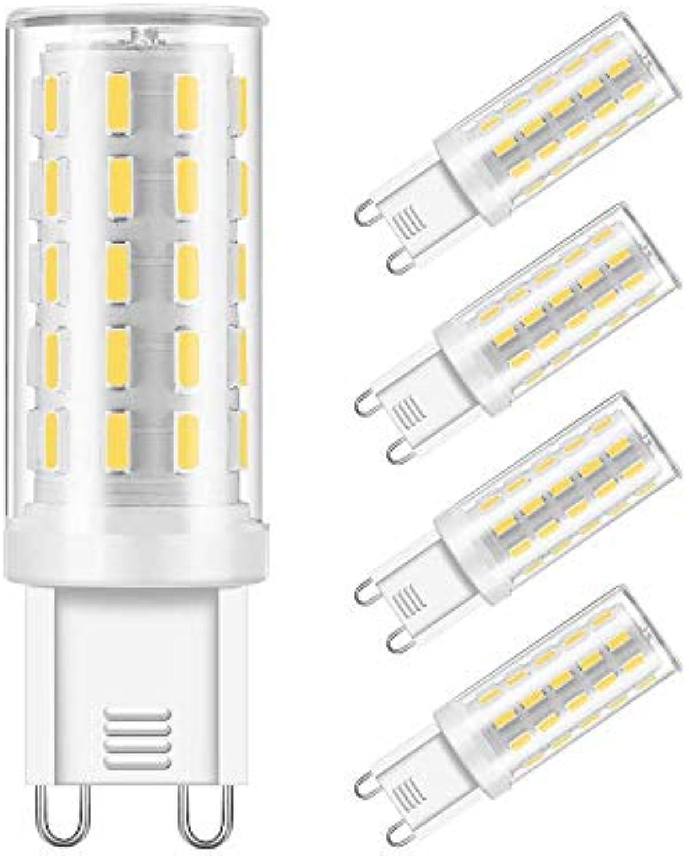 G9 Led Glühbirne 40W Halogenlampe Ersatz G9 Base Bi Pin Light Glühbirnen 120V Tageslicht Wei 6000K G9 Led Lampe für Ceiling Light Fittings Chandelier Innenbeleuchtung