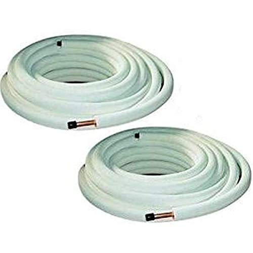 Tubi rame coppia 1/4' 3/8' - 25 mt - per condizionamento