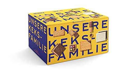 Bahlsen Unsere Keksfamilie - 1er Pack - Keksmischung mit 7 knackigen Kekssorten (1 x 1,12 kg)