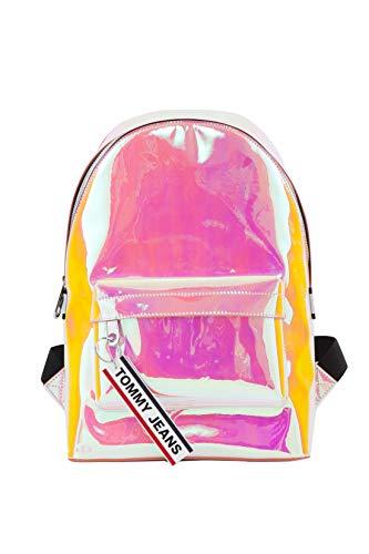 Tommy Hilfiger TJW Logo Tape Mini Backpack Canteloupe