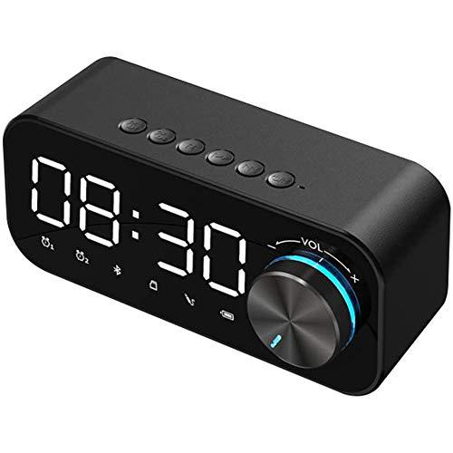LED Digitaler Wecker Nachtlicht mit Dimmmodus 3 Helligkeitsstufen Wecker am Bett Nachtlicht mit Dimmmodus