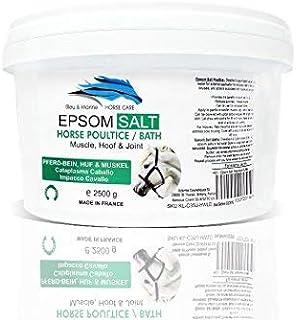 bleu & marine Bretania Hästfjädernät bad EPSOM salt 2,5 kg muskel och huva, ledvård