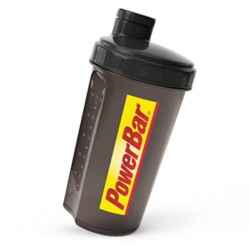 PowerBar Protein Shaker – Shakes ohne Verklumpen durch herausnehmbares Sieb – Eiweiß Shaker ideal für Proteinpulver – Smoothie – Protein Shakes – 700ml mit Sieb