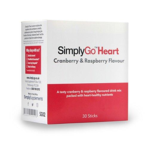 SimplyGo™ Heart - Sabor arándano y frambuesa - 30 Raciones - Apto para veganos - SimplySupplements