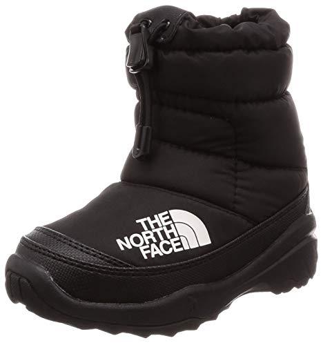 [ザ・ノース・フェイス]ブーツKNuptseBootieVボーイズTNFブラック×ブラック20cm