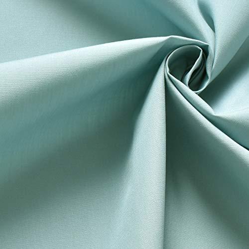 クレンゼ 生地 T/Cブロード 抗菌 抗ウイルス イータック 50cm単位販売 CLEANSE Etak 綿ポリ 日本製 国産 生地 手芸 無地 布 (ブルージェイド)