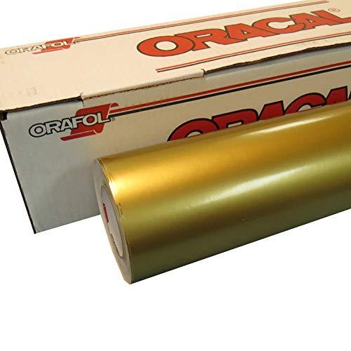 61cm Rollen Vinyl Oracal 651Für Handwerk und Vinyl Zeichen Ausstechformen 25 Feet Metallic-Goldfarben