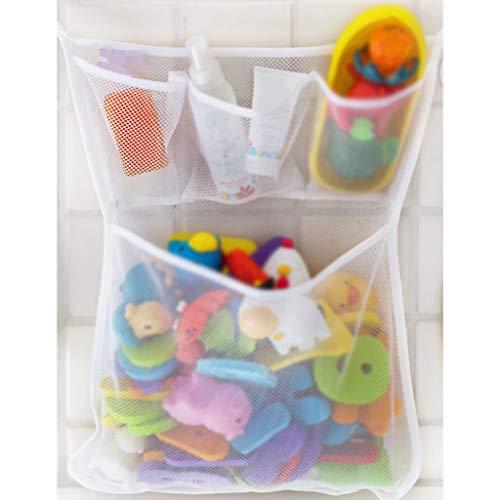 ☀ Dergo ☀Stuff storage,Bath Toy Organizer Bag Storage Baby Net Mesh Bathroom Holder Kids Bathtub Tub