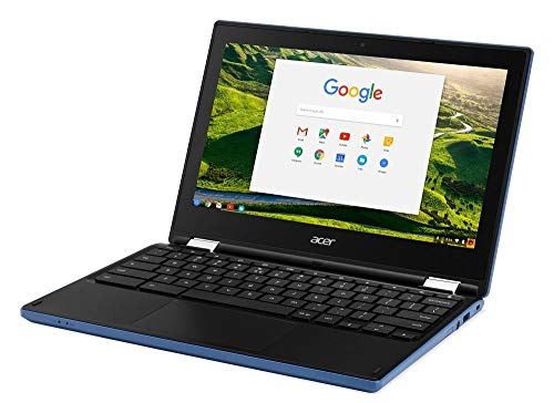 Acer Chromebook R11 CB5-132T-C67Q Touch screen Chromebook with Intel Celeron N3060 Processor, 11.6' IPS Multitouch screen 4GB Memory, 32GB SSD and Google Chrome OS (Renewed)