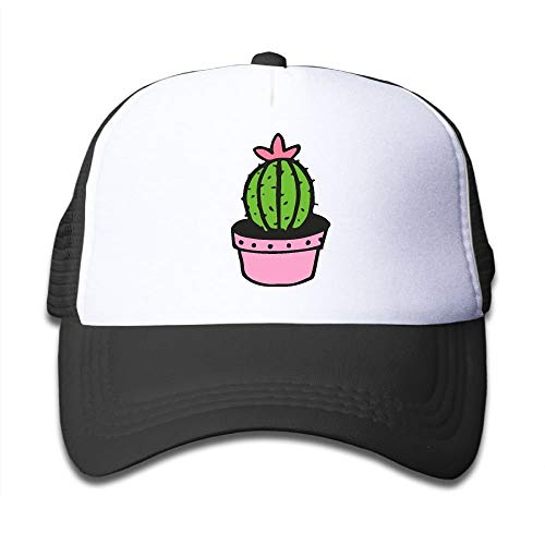 Voxpkrs Cactuses Clipart On Boys and Girls Trucker Hat, Youth Toddler Mesh Hats Baseball Cap asdfghjklzxc29457