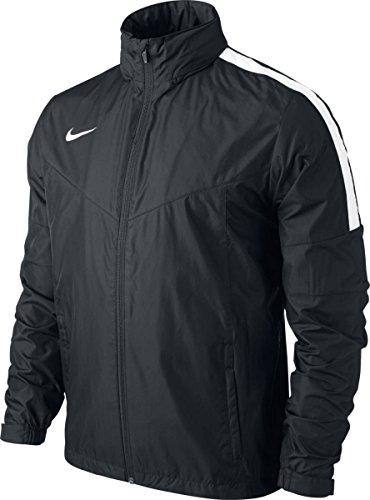 Nike Jacket Team Squad SF1 SDLN Rain Regenjacke, Black/White, L