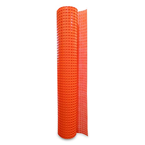 Uncoupling Membrane 3.3 feet x 32.8 feet / 108 Square Feet - Tile Underlayment Mat - Waterproofing, Anti-Fracture, Crack Isolation Membrane (1/8 inch Thick)