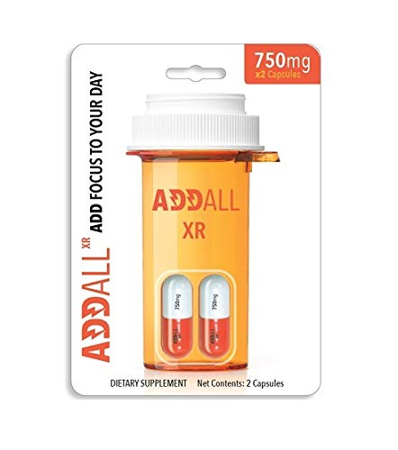Addall XR - Brain Booster Supplement - Focus, Memory, Concentration...