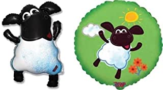 Timmy Time Sheep Foil Balloons (2 Pack, 1 of Each Design