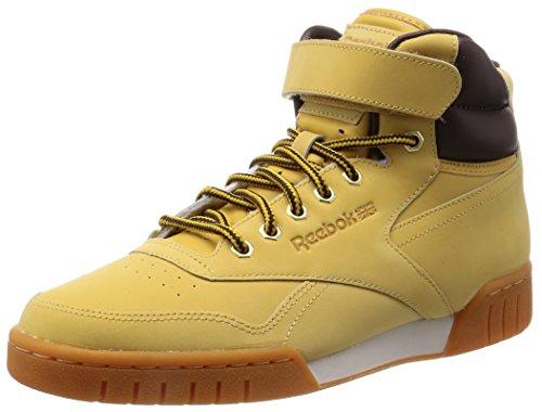 Reebok Exofit Plus HI WP M49997, Herren Sneaker, wheat/dark brown, 42.5 EU