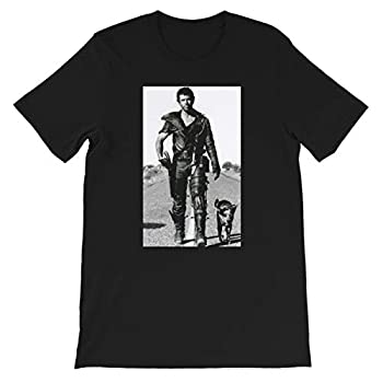 The Road Warrior Mad Max Cool 80s Movie Tee Funny Gift for Men Women Girls Unisex T-Shirt  Black-L