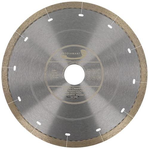PRODIAMANT FD30 CleanRim - Disco de diamante para azulejos (180 mm, para gres porcelánico, tamaño grande, piedra natural, mármol, pizarra y granito)