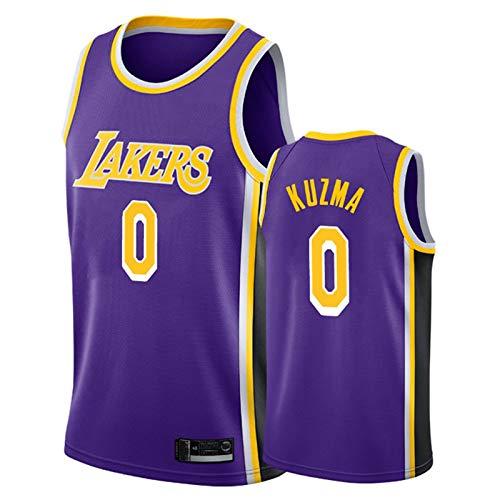 TPPHD Jerseys de Baloncesto para Hombres, NBA Los Angeles Lakers 0# Kyle Kuzma Classic Swingman Jersey, Tela Respiradora Fresca Vintage All-Star Unisex Fan Uniforme,3,XXL