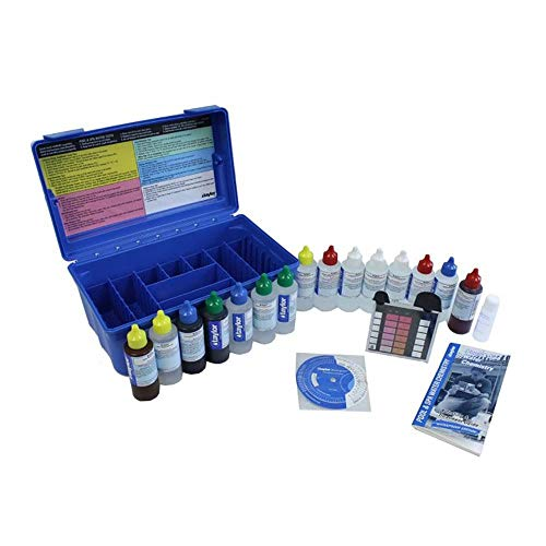 Complete Liquid Test Kit for Pools and Hot Tubs