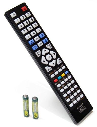 Ersatz-Fernbedienung für IKEA UPPLEVA 46 (Batterien im Lieferumfang enthalten)