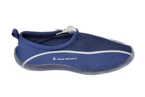 Aqua Lung Badeschuhe Schwimmschuhe LA COSTA PRO - Farbe Navy/Silver - Größe 31