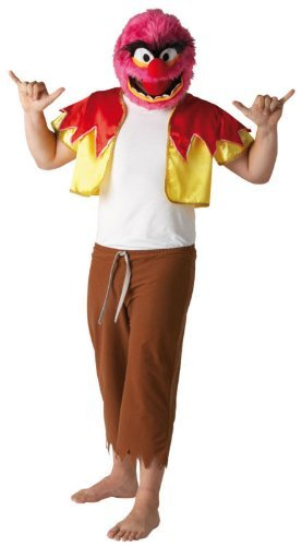 Muppets - Disfraz de animal para hombre, talla única (889803STD)