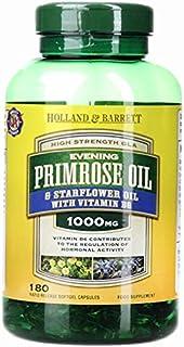 Holland & Barrett Holland & Barrett Evening Primrose Oil and Starflower Oil plus Vitamin B6 Capsules, 180 count