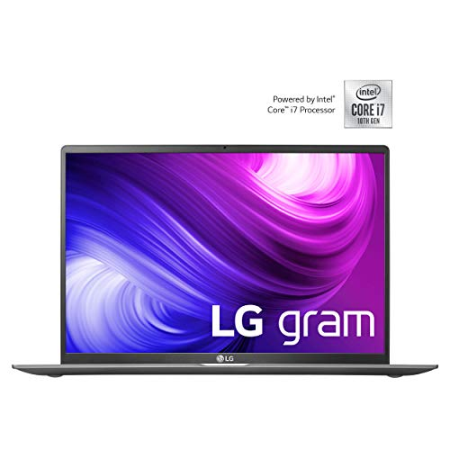LG gram 17 Zoll Notebook - 1,35 kg leichter Intel Core i7 Laptop (16GB DDR4 RAM, 1 TB SSD, IPS Display, Thunderbolt 3, Windows 10 Home) - Dunkelgrau