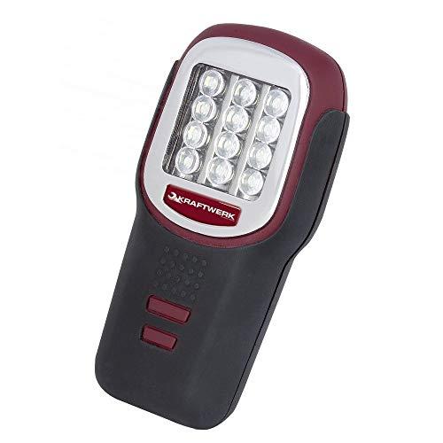 KRAFTWERK 32010 - Linterna 12 LED KW pilas AAA