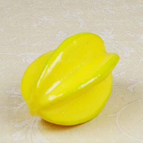 10 Stück/Set Künstliche Äpfel Plastikfrucht Grün Roter Apfel Für Hochzeitsdekoration Shop Display Gefälschte Früchte Lehrmittel Früchte, 1 Stück Sternfrucht