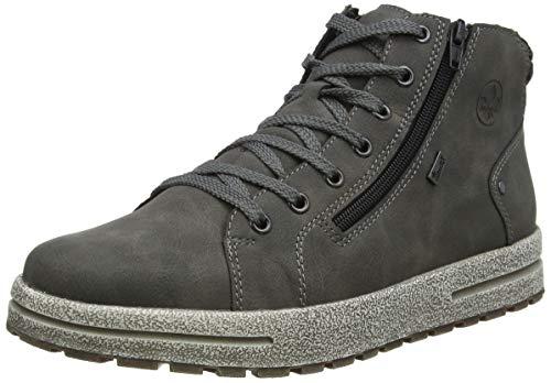 Rieker Herren 30721 Mode-Stiefel, grau, 43 EU