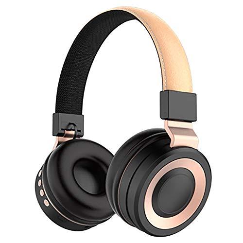 QLMY Active Noise Cancelling hoofdtelefoon, oplaadbaar, draadloos, met kabel aangegeven hoofddeksel, oorhoes, headset met ingebouwde microfoon, stereo ruisisolatie, voor hardlopen, yoga, vliegreizen
