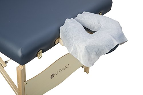 Disposable Headrest Cradle Covers for Massage Table - 100 Pack | Premium Quality - Soft and Hygenic
